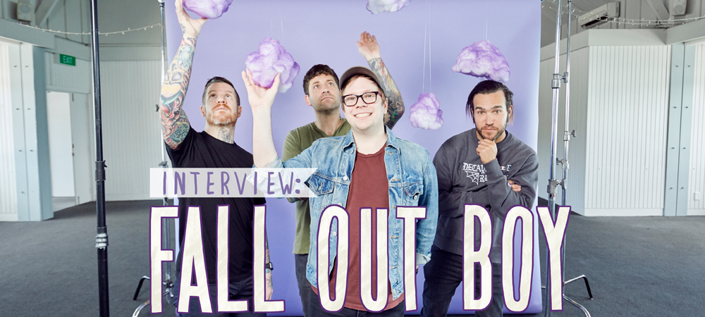 Homepage Banner - Fall Out Boy - June 2018