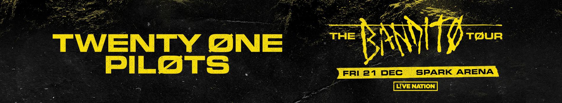 TØP Tour - Masthead Banner