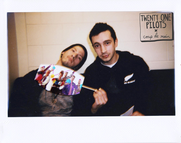 Twenty one pilots the frens interview coup de main magazine tyler strictly based on percentages of marks of the skid variety that i have left i would say there were not any but you never know m4hsunfo