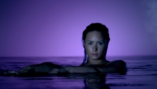 Demi Lovato - 'Neon Lights' music video. | Coup De Main ...