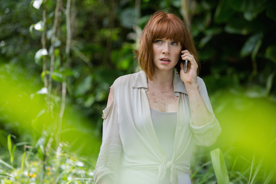 Bryce Dallas Howard Stars As Operations Manager Claire In Jurassic World And Coup De Main Was Lucky Enough To Have A Face Chat With