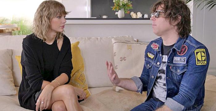 Watch Ryan Adams Interview Taylor Swift About 1989'