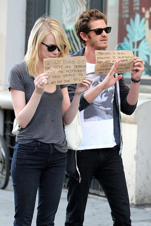 emma stone and andrew garfield tumblr