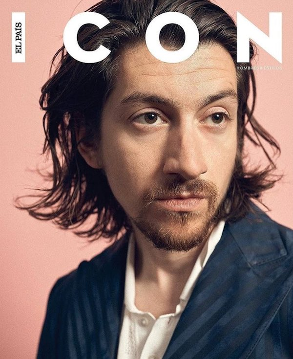 Alex Turner On The Cover Of Icon May 2018 Coup De Main