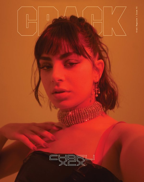 82f2742dcf1 Charli XCX on the cover of Crack magazine