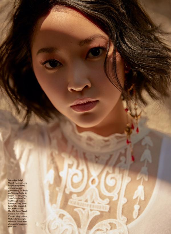 Lana Condor On The Cover Of Elle Canada April 2019 Coup De Main Magazine