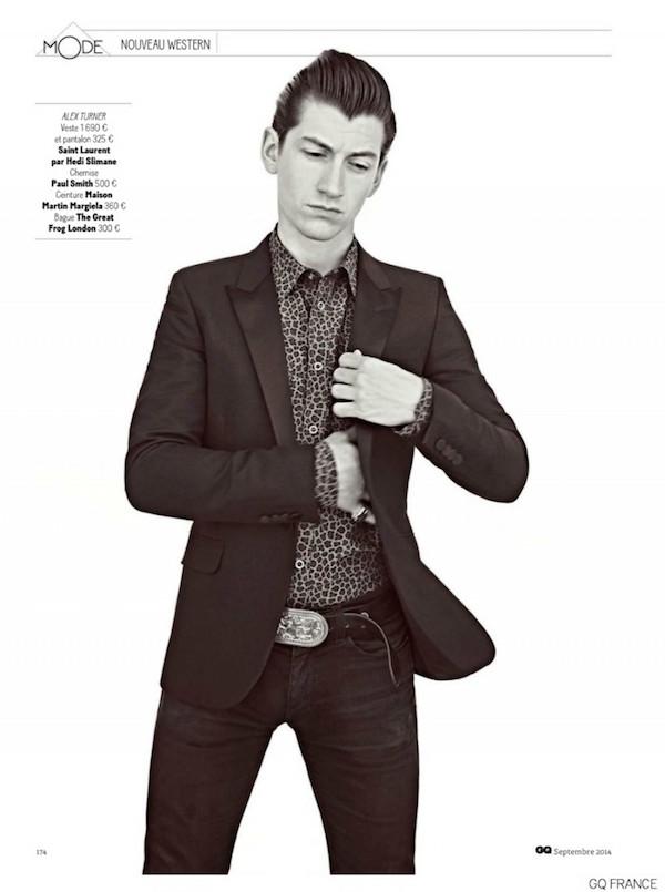 Alex Turner X Gq France Magazine September 2014 Coup