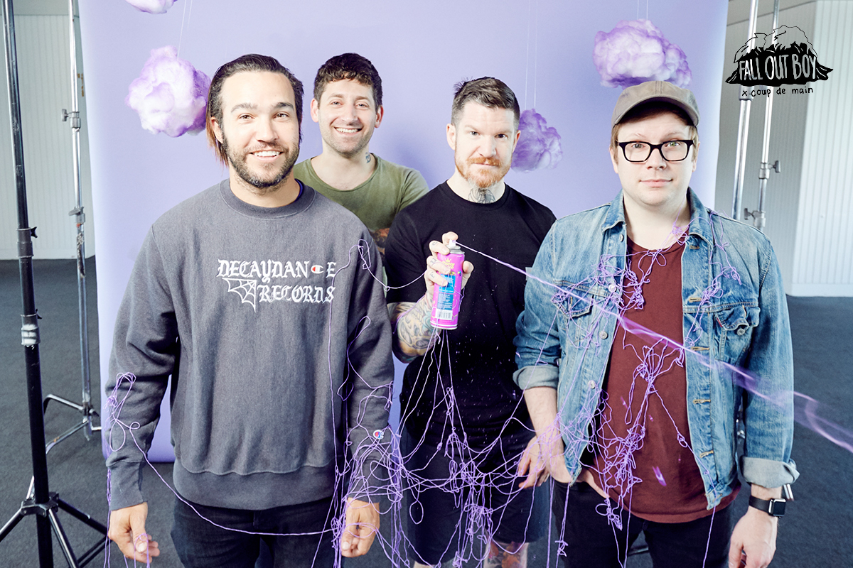 Interview Fall Out Boy 17 Years Of Friendship Coup De Main