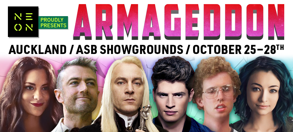 Homepage Banner - Armageddon - October 2019