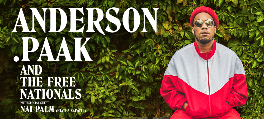 Homepage Banner - Anderson .Paak