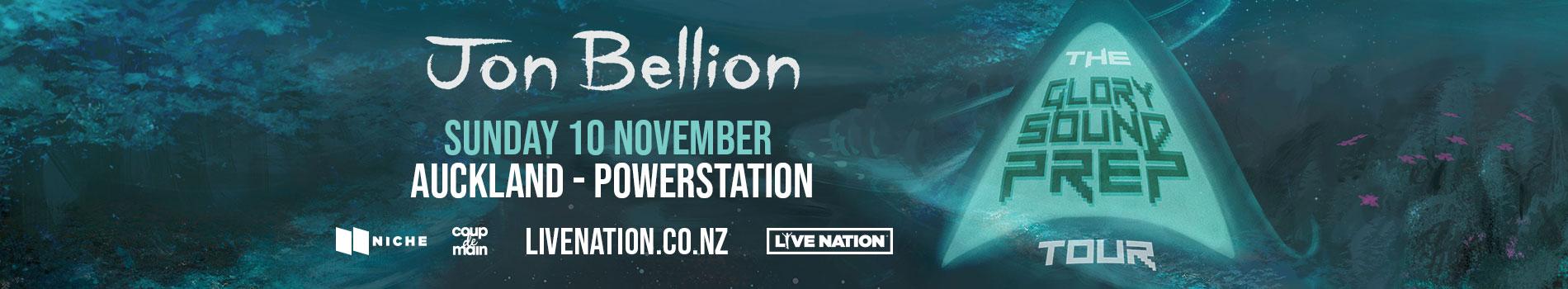 Jon Bellion - Masthead Banner