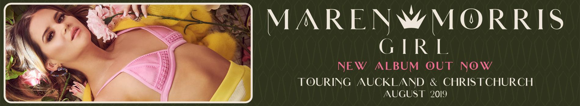 Maren Morris - Masthead Banner