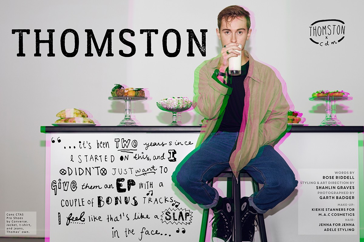 Interview: Thomston on his debut album, 'Topograph'.
