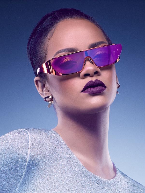 e53fb4683e711 Rihanna x Dior sunglasses.
