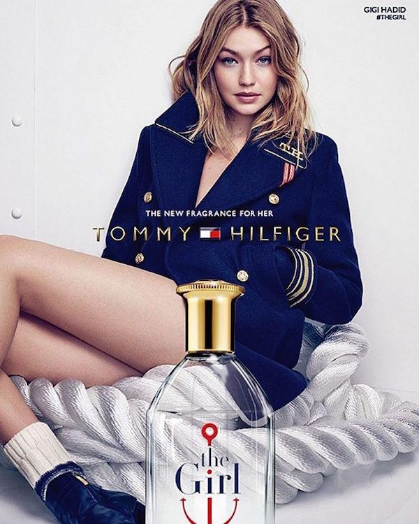 0ad8c4b65 Gigi Hadid x Tommy Hilfiger s  The Girl  fragrance.
