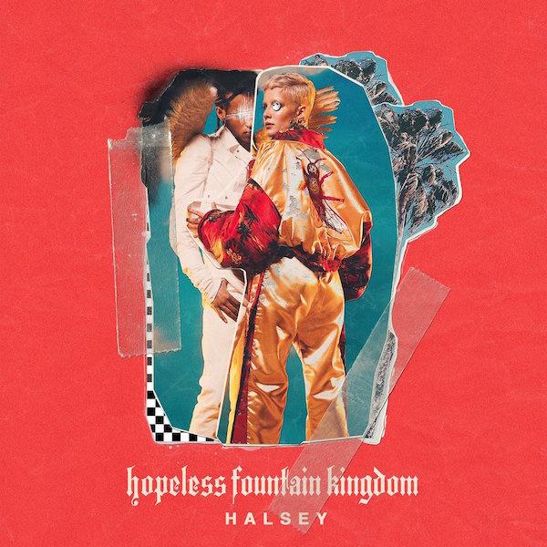 Halsey reveals 'Hopeless Fountain Kingdom' album-cover