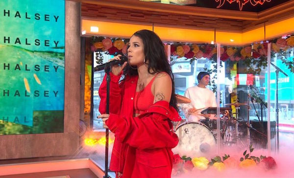 Watch: Halsey performs 'Bad At Love' live on GMA  | Coup De