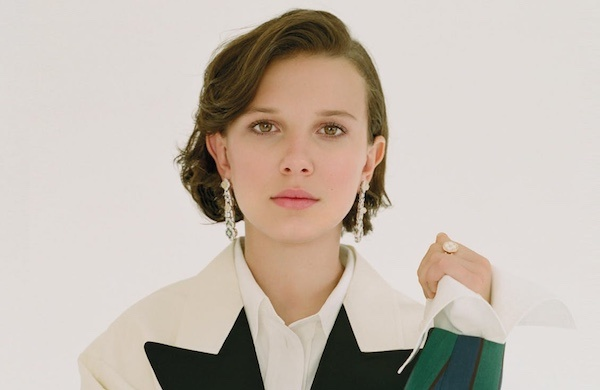 Millie Bobby Brown On The Cover Of L Officiel Magazine