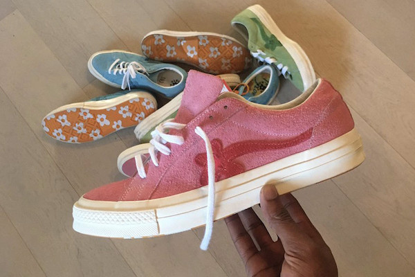 d8abde92c9ab ... new colourways of his Converse GOLF le FLEUR  sneakers
