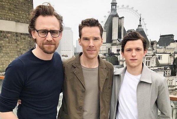 Watch benedict cumberbatch tom hiddleston tom holland do an benedict cumberbatch tom hiddleston and tom holland are doing interviews together to promote marvels upcoming film avengers infinity war m4hsunfo