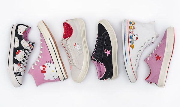 Converse have announced a collaboration with Hello Kitty, including new  sneakers, apparel and accessories, which will be available from Thursday,  ... 13b5501183