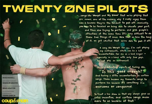 Interview: Twenty One Pilots - believe the hype. | Coup De ...