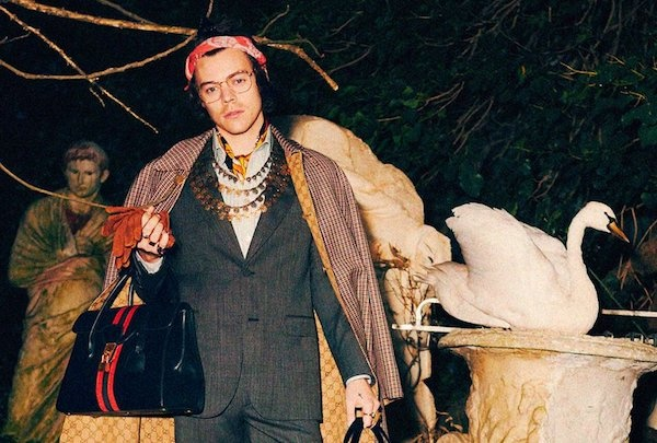 newest f1c02 4ffef Harry Styles x Gucci, Pre-Fall 2019. | Coup De Main Magazine