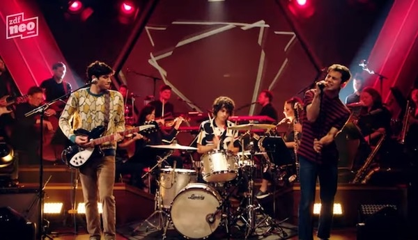Watch Wallows perform 'Scrawny' live with an orchestra