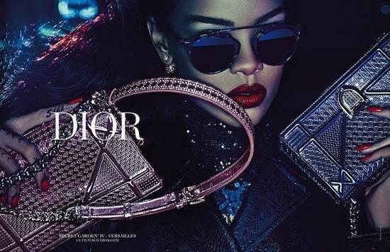 7d25a9c1d20c Rihanna stars in Dior s new  Secret Garden  campaign.