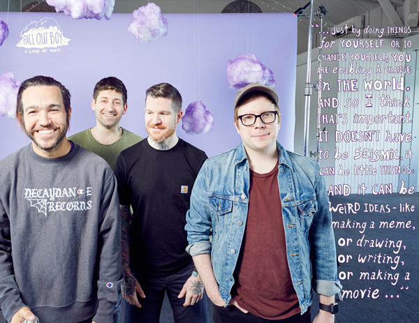 Interview: Fall Out Boy - 17 years of friendship  | Coup De Main