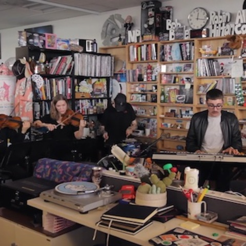 707b3b9f143 Watch  alt-J x 2017 Tiny Desk Concert for NPR.2nd May 2017 by Shahlin  GravesIn support of their upcoming new album