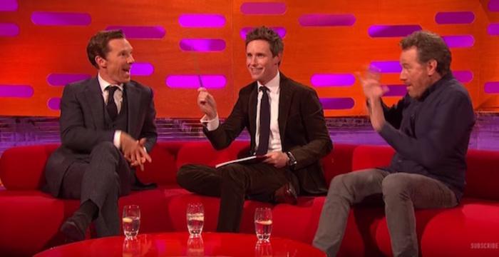 Watch Eddie Redmayne Benedict Cumberbatch Play Magic Tricks And Create Dating Video Profiles Coup De Main Magazine